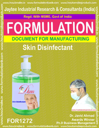 Skin disinfectant making formula( FOR 1272)
