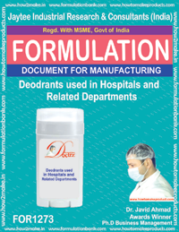 Deodrant used in hospitals (FOR 1273)