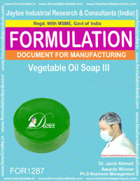 Vegetable Oil Soap III Formulation(FOR 1287)