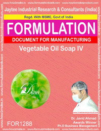 Vegetable Oil Soap IV Formulation(FOR 1288)