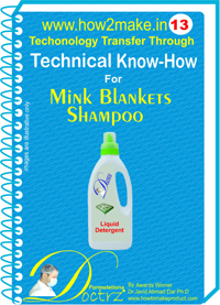 technical knowHow report for mink blankets shampoo(TNHR 13 )