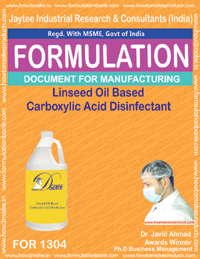 Linseed Oil Based Carboxylic Acid Disinfectant (FOR 1304)