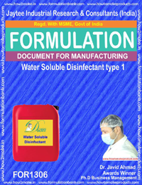 Water Soluble Disinfectant type 1 (FOR 1306)