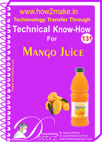 Technical Know-How Report Mango Juice (TNHR131)