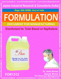 Disinfectant for Toilet Based on Napthalene (FOR 1312)