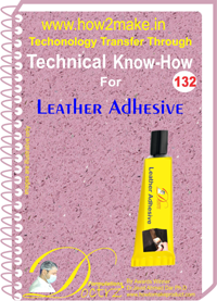 Technical Know-How Leather Adhesive (TNHR132)