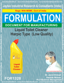 Liquid Toilet Cleaner Harpic Type (Low Quality For1328)