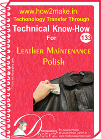 Technical Know-How Leather Maintenance Polish (TNHR133)