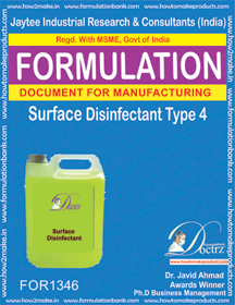 Surface Disinfectant formula 4 (for 1346)
