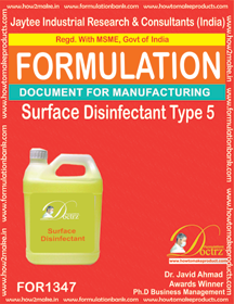 Surface Disinfectant formula 5 (for 1347)