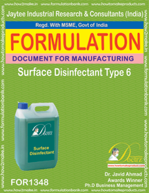 Surface Disinfectant formula 6 (for 1348)