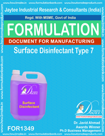 Surface Disinfectant formula 7 (for 1349)