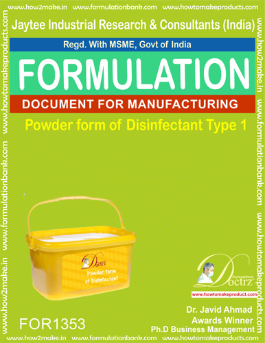 Disinfectant powder form type 1 (FOR1353)