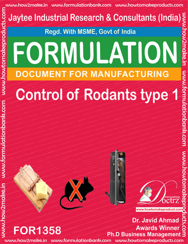 Rodents Control product Formulation type 1 (FOR1358)