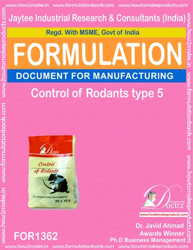 Rodents Control product Formulation type 4 (FOR1362)