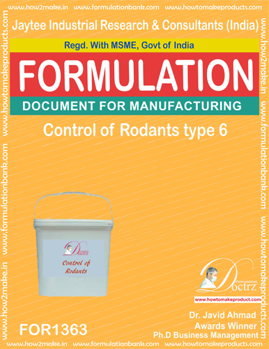 Rodents Control product Formulation type 5 (FOR1363)