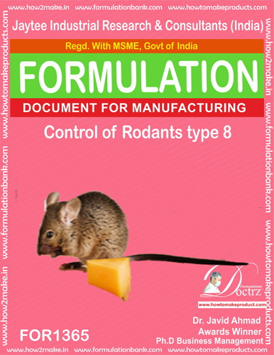 Rodents Control product Formulation type 7 (FOR1365)