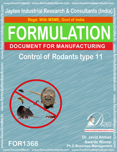 Rodents Control product Formulation type 11 (FOR1368)
