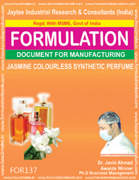 Jasmine Colourless Synthetic Perfume