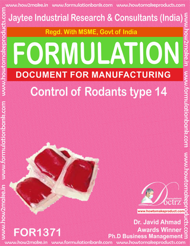 Rodents Control product Formulation type 14 (FOR1371)