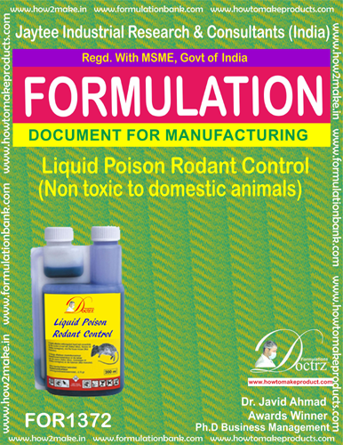 Rodents Control liquid poison type 15 (FOR1372)