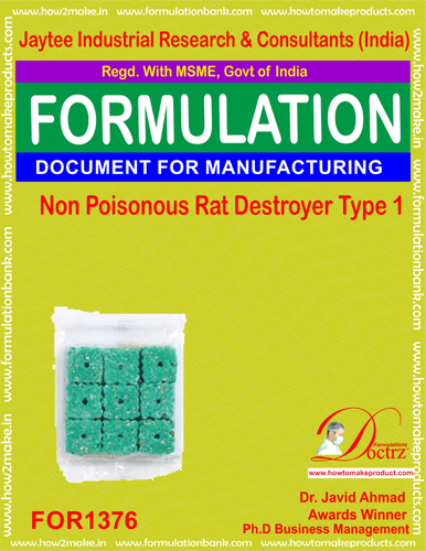Non Poisonous Rat Destroyer Product Formula 1 (FOR 1376)