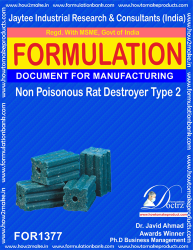 Non Poisonous Rat Destroyer Product Formula 2 (FOR 1377)