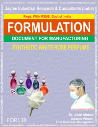 Synthetic White Rose perfume
