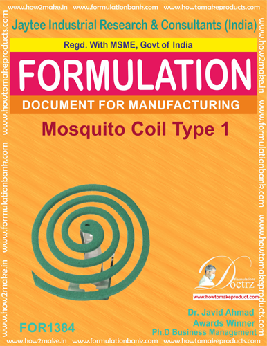 Mosquito coil Formulation type2(FOR 1385)