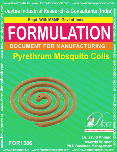 Pyrethrum Mosquito coil Formulation (FOR 1386)