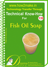 Technical Know-How Fish Oil Soap (TNHR139)