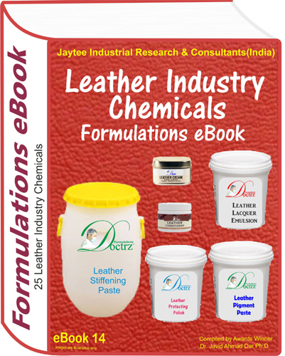 Leather Industry Related Products Formulations eBook(eBook14)