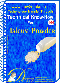 Talcum Powder Technical Know How Report (TNHR144)