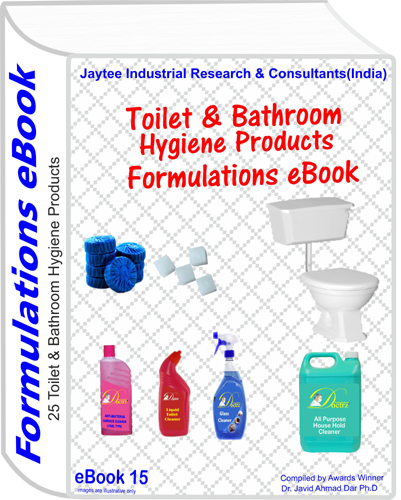 Toilet , Bathroom Hygiene Products Formulations eBook(eBook15)