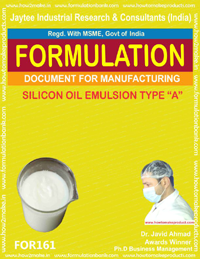 Formulation for silicon oil emulsion A