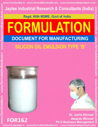 Formulation for silicon oil emulsion type B