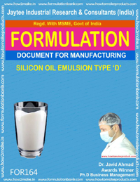 silicon oil emulsion type D making formula