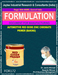 Automotive red oxide zinc chromate primer