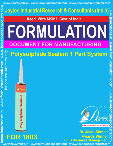 Polysulphide Sealant Manufacturing single part (For 1803)