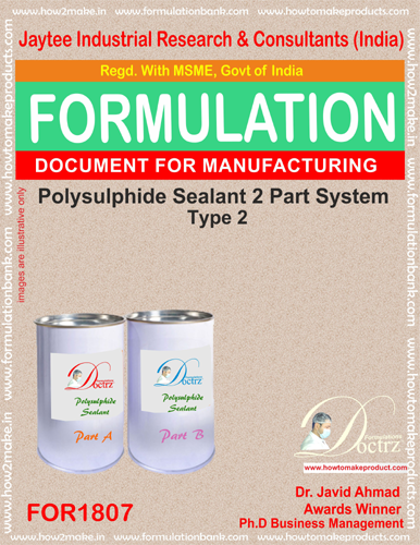 Polysulphide 2 Parts sealant formula 2 (For 1807)
