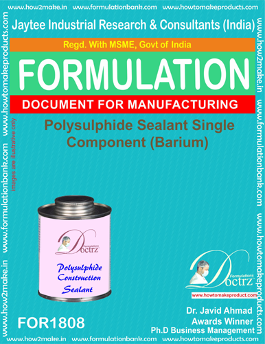 Polysulphide sealant single component barium (For 1808)