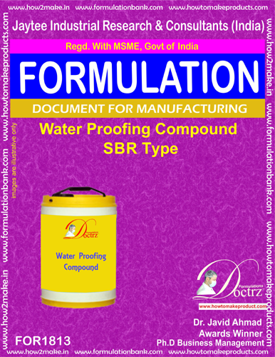 Waterproofing compound SBR Type Formula(FOR 1813)