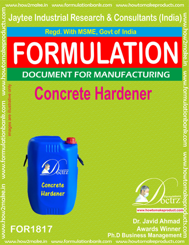 Concrete Hardener Compound formula (FOR 1817)