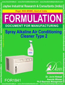 Spray alkaline air conditioner cleaner type 2 (FOR 1841)