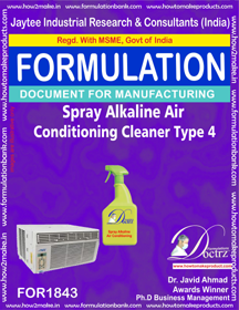 Alkaline air conditioner spray type 4 (FOR 1843)