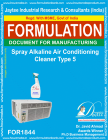 Spray alkaline AC cleaner type 5 (FOR 1844)