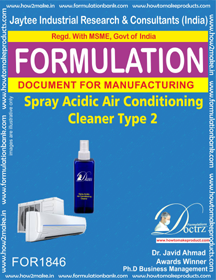 Acidic spray AC cleaner type 2 (FOR 1846)