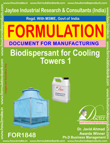 Bio-dispersant for cooling tower maintenance (FOR 1848)