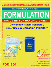 Concentrate steam boiler scale corrosion inhibitor 1(FOR 1850)