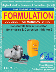 Concentrate steamer boiler scale corrosion inhibitor 3(FOR 1852)
